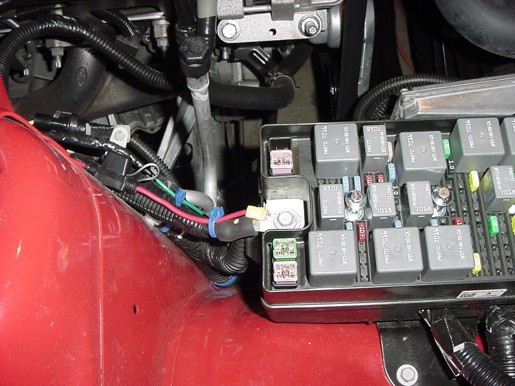Wiring Fog Lights On A V6 The Mustang Source Ford Forums Acura Rsx Light Diagram Leave Room To Do Other Work Not Taking Tight Short Cuts In Path Also Please See Further Explanation Regarding This Step At Posts 18 19