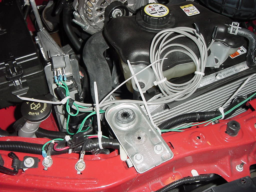Wiring Fog Lights On A V6 The Mustang Source Ford Forums Negative Trigger Light Relay Diagram Two Wire Pairs Which Will Go To Your Commoning Wires Ground And Using In This Case Separate Power Lamp Lugs