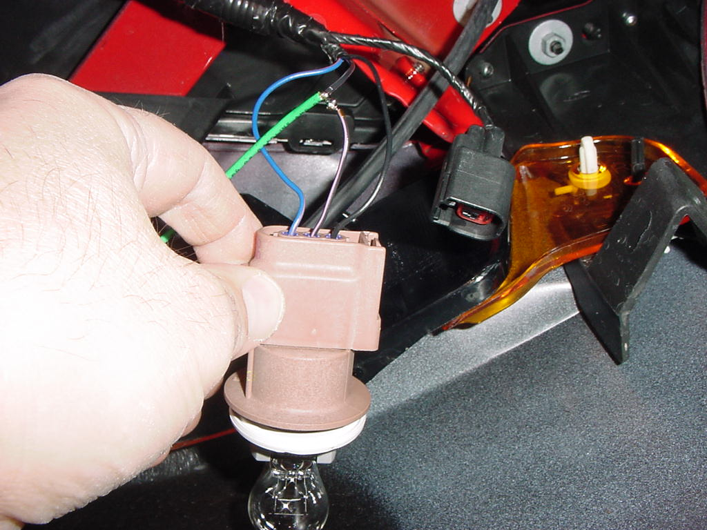 Wiring Fog Lights On A V6 The Mustang Source Ford Forums 05 09 Gt Fuse Box Use 5 Amp For This Switching Means Circuit See Photo In Step To Holder